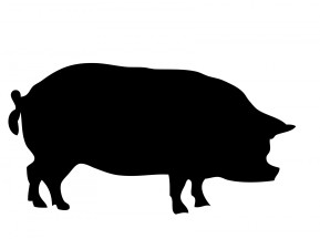 pig-silhouette